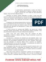 Aula Demonstrativa - várias matérias - CEF 2012