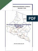 Plan Vial - Diagnostico Final Carabaya 2007 - Modif.