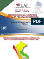 4A SEMANA Desastres Metereológicos y Topográficos
