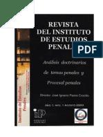 Revista Digital Anual del Instituto de Estudios Penales