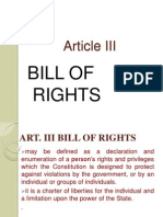 article 3 bill of rights