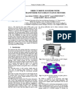 Direct Drive Systems with Transverse Flux Reluctance Motors