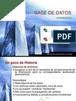 Introduccion Base de Datos