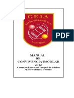 Manual de Convivencia Escolar Extracto