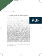 Giorgio Vasari tra Roma e Firenze