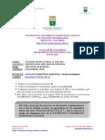 Taller 1 Metodos de Energia Isostaticos Estructuras II