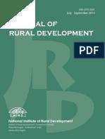 Journal of  Rural Development