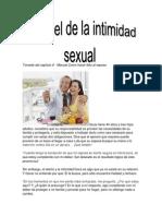 El Papel de La Intimidad Sexual