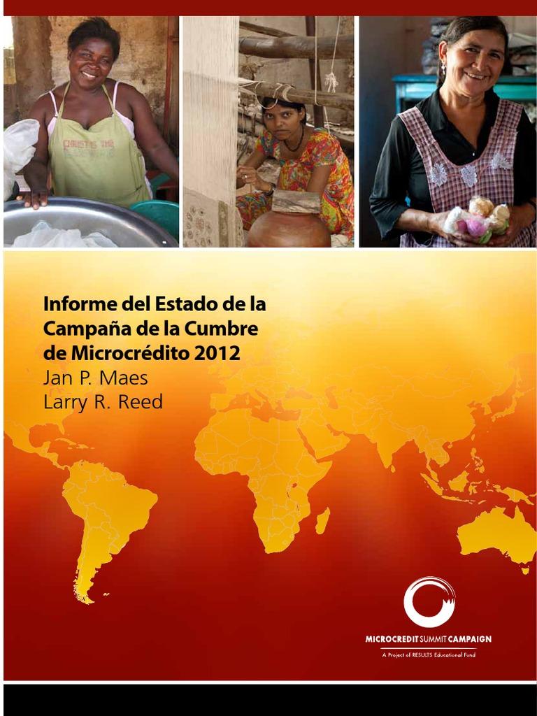 Informe del Estado de la Campaña de la Cumbre de Microcrédito 2012 ...