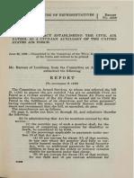 CAP Congressional Funding - 29 Jun 1956
