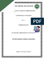 Ejemplo de Proceso Planificación Estrategica