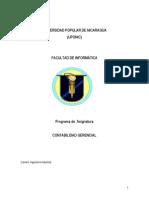 Programa de Contabilidad Gerencial Revisado