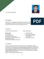 CV of Md Riaj Hossain