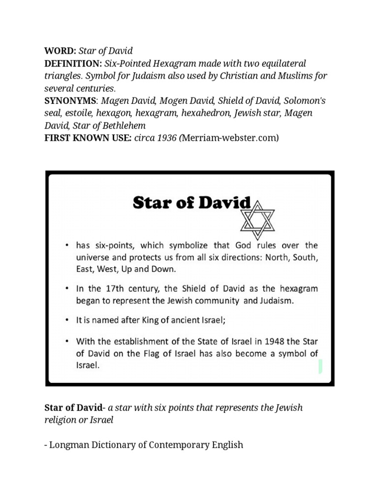 Star of david definitions reference guide ethnoreligious groups star of david definitions reference guide ethnoreligious groups ancient peoples of the near east buycottarizona Images