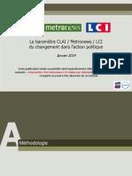 OpinionWay - Le baromètre CLAI  Metro  LCI du changement dans laction politique_Jan2014.pdf