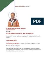 Slujba Sfantului Iosif Cel Nou de La Partos