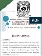 Organismos Nacionales e Internacionales en Seguridad e Higiene