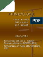 Curs 1 Farmacocinetica