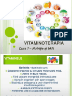 Curs 7 Vitaminoterapia
