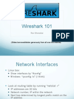 Wire Shark Section