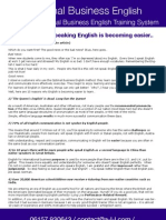 10 Reasons Why Speaking English is Becoming Easier - Optimal Business English