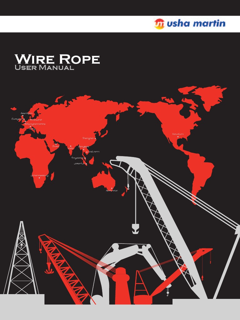 Wire Rope User Manual | Rope | Wire