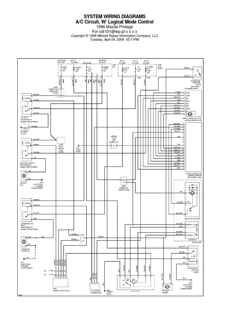 Mazda Protege 1996 Wiring Diagram Wiring Diagrams Menu Unity A Menu Unity A Mumblestudio It