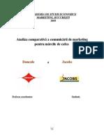 77010266 Analiza Comparativa a Comunicarii de Marketing Pentru Marcile de Cafea Doncafe Si Jacobs