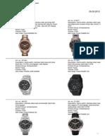 Katalog Fossil Watches 06.09.2012