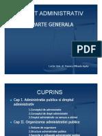 Drept Administrativ General Popescu Agata