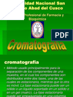 exposicion cromatografia