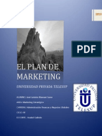 Trabajo Grupal El Plan de Marketing