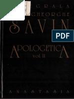 (Gheorghe Ioan Savin) Apologetica (2)
