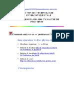 67763421 Methodes d Analyse Des Proteines