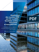 Application Normes IFRS Societes Foncieres Decembre2010