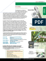 Medidor de Clorofila SPAD 502 & 502DL