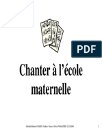Chant Maternelle