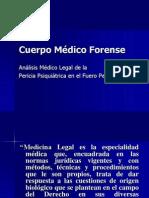 Cuerpo Médico Forense 1