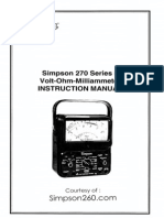 Simpson 270-5 User Manual-2007
