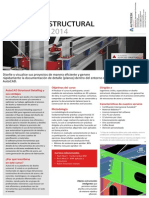 Brochure Curso Autocad Structural Detailing 2014