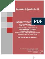 Documento N° 6 Infraestructura & Equipamiento