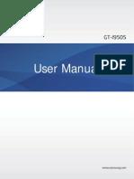 Galaxy S4 User Manual GT I9505 Jellybean English 20130412