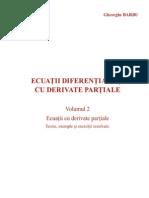 Ecuatii Cu Derivate Partiale de Ordinul Al Doilea