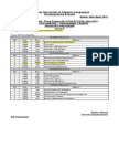 Date-Sheet for MSBA, MBA, M.com, BBA, B.com Courses Mor & Eve, June 2013