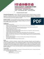 Housing Counselor Job Description 9-18-2009