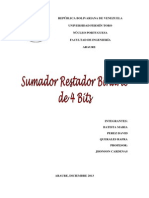 sumador restador