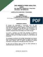 166555499 Tema i Legislacion Monetaria y Financiera Uapa