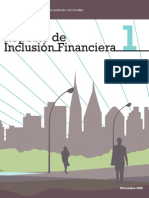 CNBV Primer Reporte de Inclusión Financiera