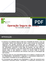 3. Operação Segura de Redes