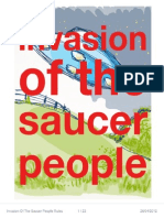 Invasion of the Saucer People Rules